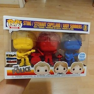 The Police Funko Pop 3 pack